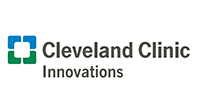 graphic of a blue and green letter C with the words Cleveland Clinic Innovations to the right