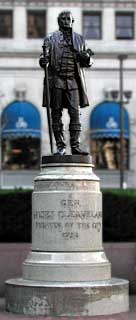 photo of General Moses Cleaveland monument