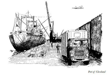 Nancy Martt Illustration - Port of Cleveland